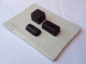 乳酸菌H61株入りダークチョコレート
