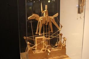 玩具博物館 オートマタ馬